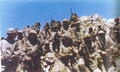 Indian soldiers in Batalik during the Kargil War. Photo: PMO