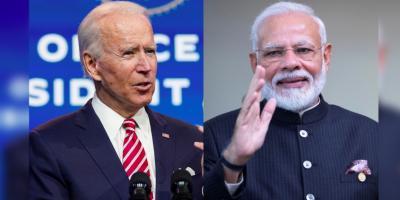 File images of US President Joe Biden and Prime Minister Narendra Modi. Photos: Reuters