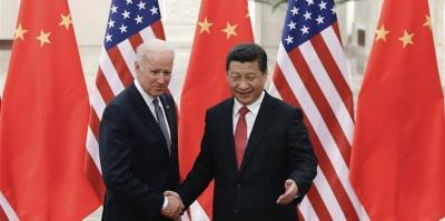 US President Joe Biden and Chinese President Xi Jinping. Photo: Reuters