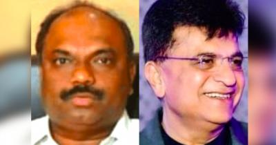 Anil Parab (left) and Kirit Somaiya. Photos: Twitter