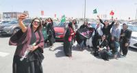 Saudi women take victory lap as driving ban ends