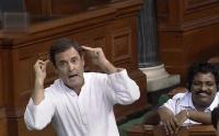 Speaker frowns on Rahul 'drama', says decorum must