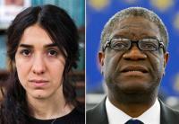 DR Congo's Dr Mukwege and Yazidi campaigner Murad win Nobel Peace Prize