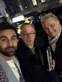Ranbir Kapoor and Rishi Kapoor have a fanboy moment!