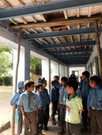 Govt school building unsafe, poses threat to students' lives