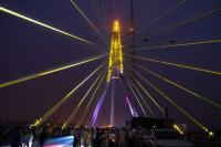 Signature bridge — a new tourist destination, double the height of Qutub Minar