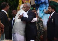 Modi pays maiden visit to Maldives as Solih takes oath as President