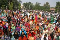Rampal followers hold demo, submit memo