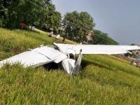 Trainer plane crashes in Hyderabad's Shankarpalli; pilot safe