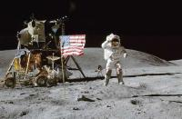 Russia to verify US moon landings: Roscosmos chief