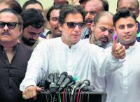 Pak PM Imran Khan calls for new law to deal with money-laundering