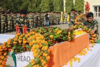 Tributes paid to slain soldier, BSF man