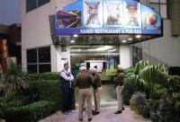 Police raid on hotel