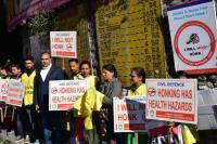 Awareness on 'horn not Ok' campaign
