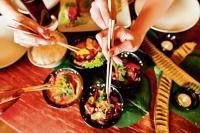 Sharing plates can help make better business deals