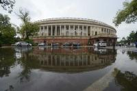 Rajya Sabha adjourned for the day following protests
