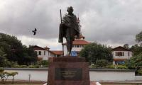 Ghana varsity removes Gandhi statue as protesters call him 'racist'