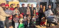 Rotary Club donates school uniforms
