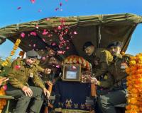 Tributes paid to soldier killed in Pulwama dist