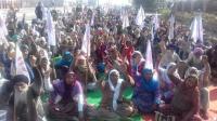 Indefinite dharna over 'poor' law and order in Tarn Taran