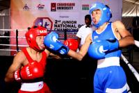 SSCB, Haryana boxers pack a punch