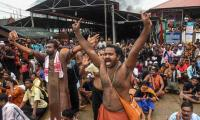 High drama at Sabarimala as women, police face ire of devotees