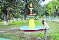 Six heritage fountains at Baradari Gardens get a makeover