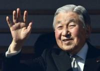 Tears as Japan Emperor delivers last New Year's Address