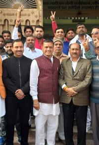 Saini's party announces Jind candidate