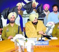 Blind murder case cracked, friends among six arrested