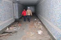 Subways turn safe haven for drug peddlers, alcoholics