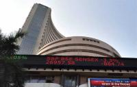 Sensex jumps over 200 points; Nifty tests 10,850