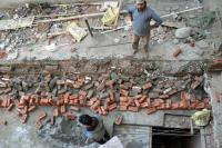 MC razes illegal construction