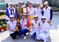 College Red Cross unit bags awards