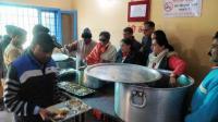 Ex-minister observes husband's death anniversary at 'Sanjhi Rasoi'