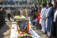 Emotional adieu to Major Nair