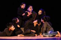 Mime artistes wow audience