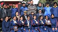 Visually impaired athletes win medals in IBSA national meet