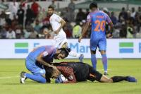 India crash out, Constantine steps down
