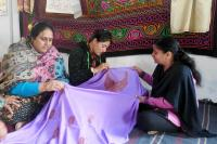 Self-help group imparts training to militancy displaced women