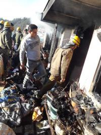 Fire reported at Shimla house; no loss of life reported