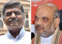 Cong's Hariprasad takes 'swine flu' dig at Shah, BJP hits back