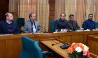 CM reviews progress of projects on Him portal