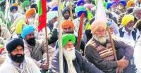 Farmers protest outside Patiala DC's office