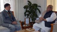 Guv, Meghalaya CJ discuss ways to make legal system more effective