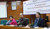 CS launches schemes for disaster risk reduction