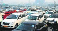 Gurugram caught in gridlock