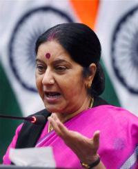 India-Africa ties to redefine international order on egalitarian lines: Swaraj
