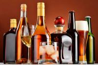 One arrested with 60 liquor bottles
