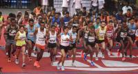 Lagat, Worknesh clinch Mumbai Marathon titles